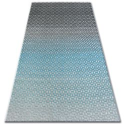 Carpet LISBOA 27208/954 Structural Black Turquoise