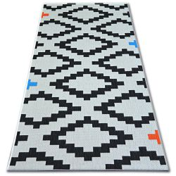 Carpet COLOR 19318/836 SISAL Diamonds White