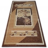 Carpet BCF BASE 3706 brown / ivory