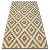 Carpet SKETCH - F998 gold/cream - Squares