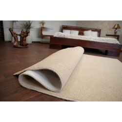 Fitted carpet SHAGGY MELODY cream