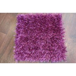 Carpet SHAGGY AL MANO 40x40cm DO IT YOURSELF violet