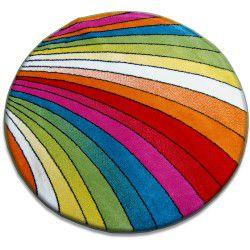 Carpet PAINT circle - 1560 blue