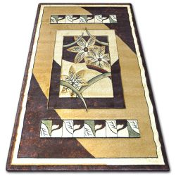 Carpet heat-set KIWI 4703 l.beige/d.brown