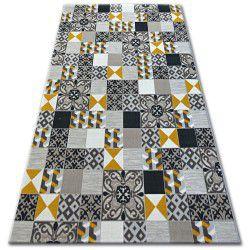 Carpet LISBOA 27218/255 Squares Yellow
