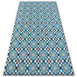 Carpet LISBOA 27206/754 Flowers Turquoise