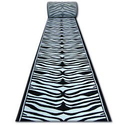Runner HEAT-SET FRYZ 9032 black and white ZEBRA