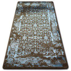 Carpet ACRYLIC MANYAS 0920 Brown/Blue