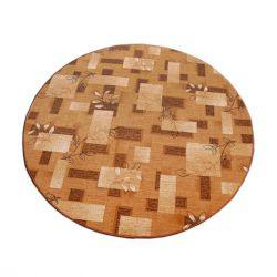 Carpet circle AMALIA brown