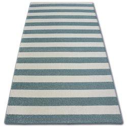 Carpet SKETCH - F758 turquoise/cream - Strips