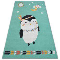 Carpet PASTEL 18401/043 - PENGUIN green