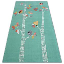 Carpet PASTEL 18405/043 - BIRDS green