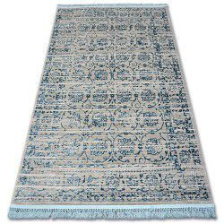 Carpet ACRYLIC MANYAS 193AA Grey/Blue fringe