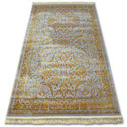 Carpet ACRYLIC MANYAS 194AA Grey/Gold fringe
