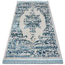 Carpet ACRYLIC MANYAS 192AA Grey/Blue fringe