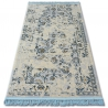 Carpet ACRYLIC MANYAS 196AA Ivory/Gold fringe