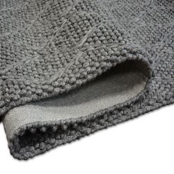 Carpet Hills Wool 93520 anthracite