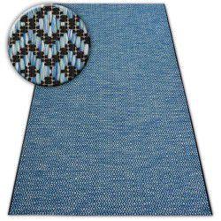 Carpet LOFT 21144 black/silver/blue