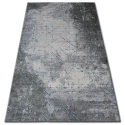Carpet ACRYLIC YAZZ 6076 CRACKED CONCRETE blue / grey