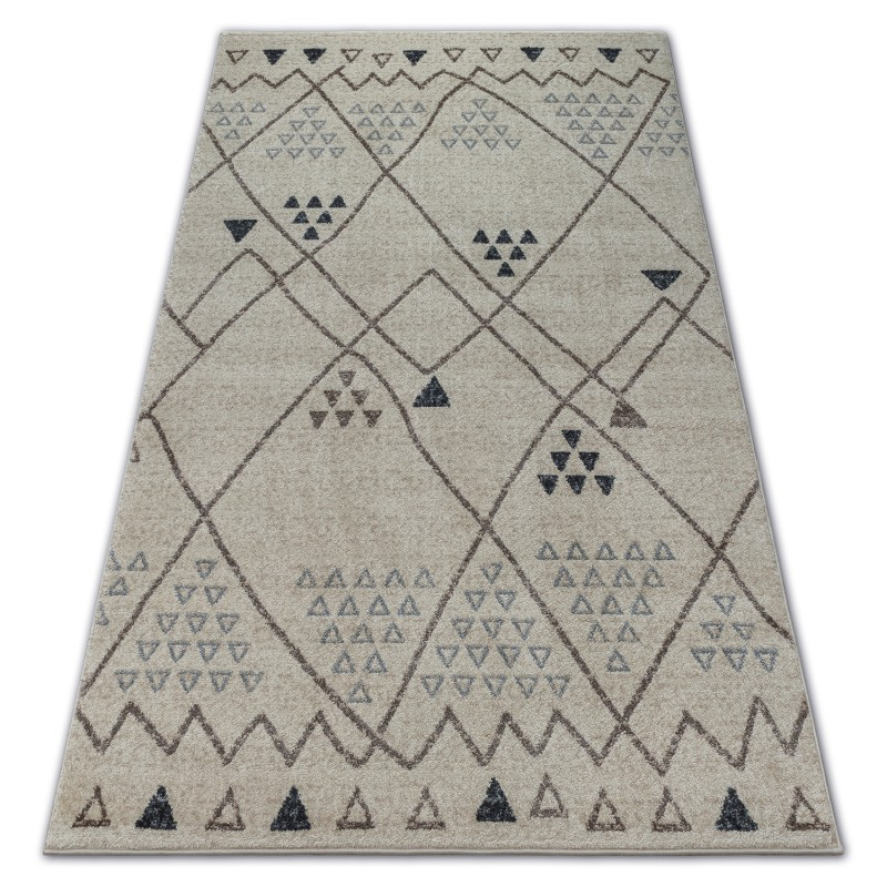 Carpet Soft 2554 Ethno White Light Grey