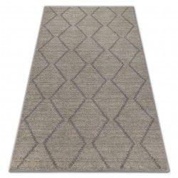 Carpet SOFT 8036 Cream/Light brown