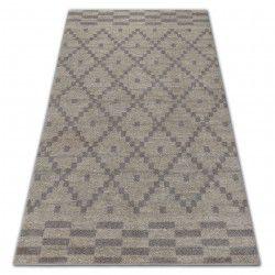 Carpet SOFT 8047 Cream/Light brown