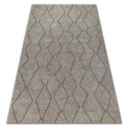 Carpet SOFT 8050 Cream/Light brown