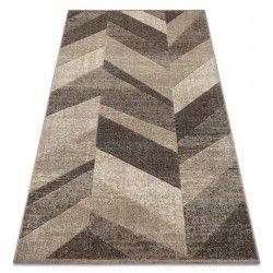 Carpet FEEL 5673/15055 HERRINGBONE beige / brown / cream