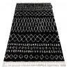 Carpet BERBER ETHNIC G3802 black / white Fringe Berber Moroccan shaggy