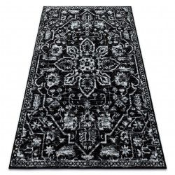Carpet RETRO HE184 black / white