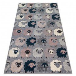 Carpet HEOS 78468 grey / blue SHEEPS