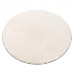 Carpet, round   VELVET MICRO cream 031