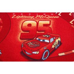 Children carpet DISNEY CARS red