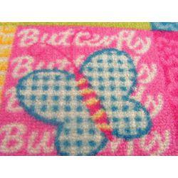 Children carpet BUTTERFLY