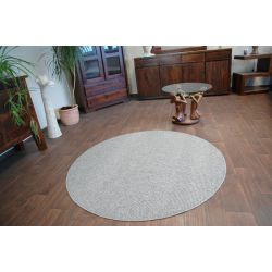 Carpet round PRIUS 49 grey