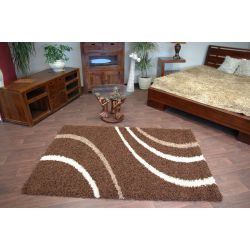 Carpet COZZY PAOLA dark brown