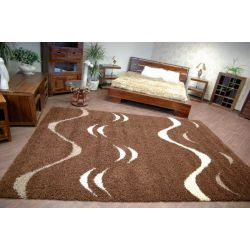 Carpet COZZY TICO dark brown