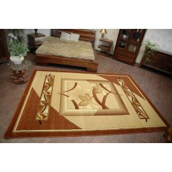 Carpet HEAT-SET ADORA 5197 brown