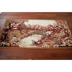 Carpet MAKATA - MOSTEK maroon