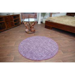 Carpet circle KASBAR purple