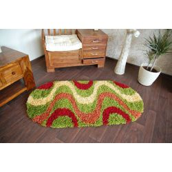 Carpet SHAGGY oval design 2147 G
