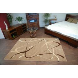 Carpet caramel CHOCO walnut