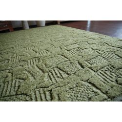 Fitted carpet MESSINA 022 green