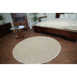 Carpet round MISTRAL light beige