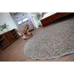 Carpet round MISTRAL steel
