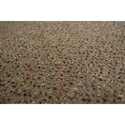 Fitted carpet VELOUR TECHNO STAR 830 brown