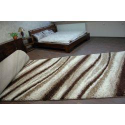 Carpet wall to wall SHAGGY 5cm design 2714 ivory light beige