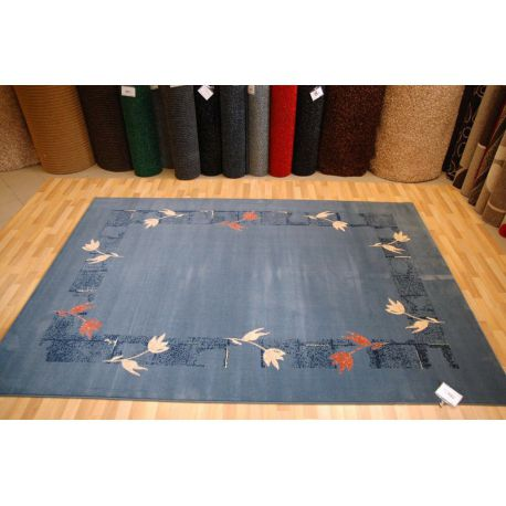 Carpet SPIRIT RAMKA navy blue