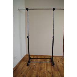 STANDING HANGER WU12 black/chrome