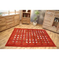 Carpet TERRY red